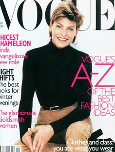 Linda Evangelista. November 1996 by Regan Cameron