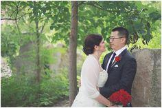 Amy + Hanson   Wedding Ceremony. Photos by Kate Kerr  Photography. #IndianaStateMuseum