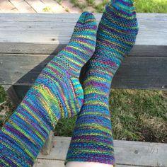 Ravelry: belindaross' tantalizing spring socks Crazyfoot in Springtime colorway
