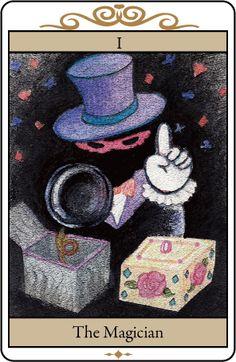 自作タロットカード「マジシャン」