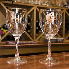 use winery wine glasses for cocktail hour from places weve been together winery wine glass - Google Search