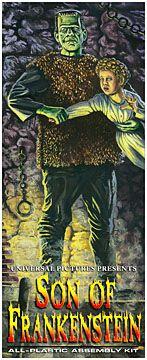 Frankenstein Son of Frankenstein Aurora Fantasy Box