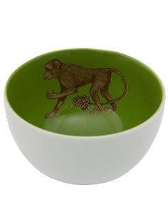 Monkey Porcelain Bowl | Liberty London