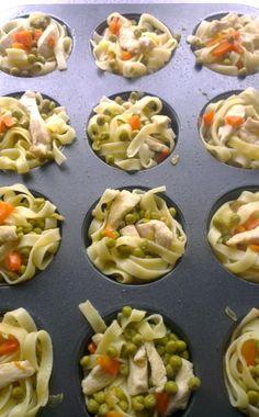 Tagliatelle and Chicken Healthy Muffin Recipes