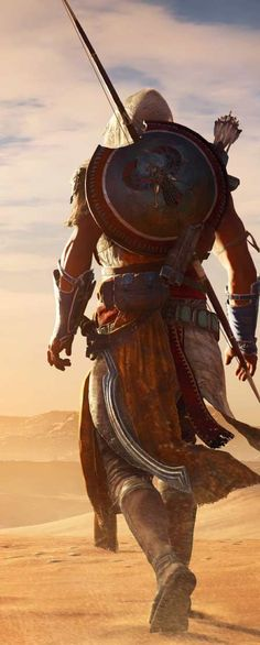 Papel de parede grátis de jogos - ogo Assassins Creed Origins.