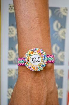 Wayuu Bracelet Watch, Watches, Bracelets, Accessories, Fashion, Handmade Jewelry, Hand Made, Handmade Accessories, Woven Bracelets