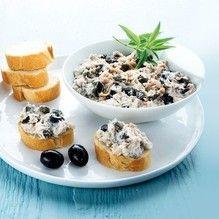 Tupperware - Mousse di tonno capperi e olive