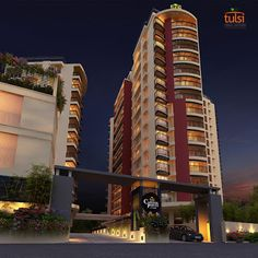 Luxuryapartments In Cochin Builders Kerala Tulsi Developers Have Many Luxury