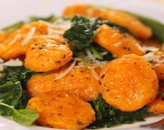 Sweet Potato Gnocchi with Brown Butter Sauce- eh, bland