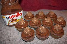 Mini cupcakes de nutella