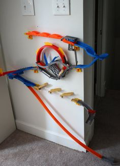 hot wheels wall tracks!