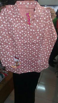 Bluse anak merk lolypop Ukur S/XL Harga Rp 99.500