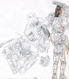 pen drawing, ETAMA QUOMO on ArtStation at https://www.artstation.com/artwork/NyADd