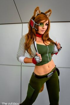 "Interesting concept....Sexy jess with her new Shooting in ""StarFox"" ... - Jess 4 Life :)"