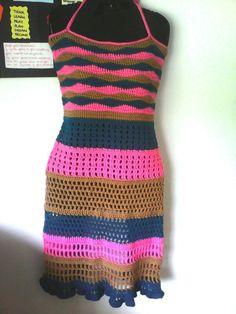Waves Apron top/dress