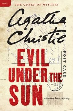 Agatha Christie's Evil Under the Sun...Poirot solves a murder committed on a tiny resort island. Such fun.
