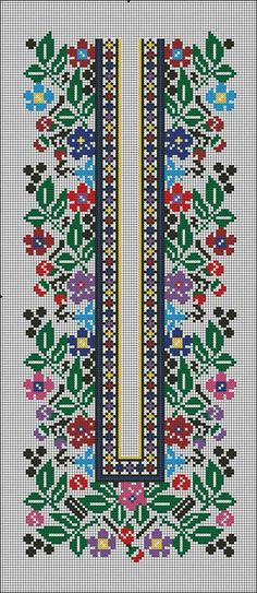 Узори для вишиванок 5  Борщівські узори 5 Cute Cross Stitch, Cross Stitch Borders, Cross Stitch Charts, Cross Stitch Designs, Cross Stitching, Cross Stitch Patterns, Tambour Embroidery, Ribbon Embroidery, Cross Stitch Embroidery