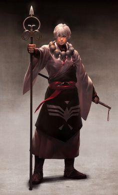 Resultado de imagem para monk character design
