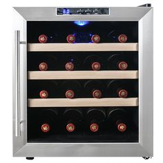 Firebird New Thermoelectric Quiet Operation Wine Cooler Cellar Chiller Refrigerator (16 bottles) * This is an Amazon Affiliate link. Be sure to check out this awesome product.