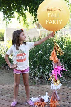 Yummy Mummy Kitchen: Autumn Birthday Party