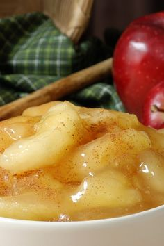 Brown Sugar and Cinnamon Sauteed Apples #Dessert #Recipe