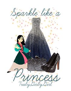 """""""Sparkle like a Princess"""" by trulygirlygirl ❤ liked on Polyvore featuring Marchesa and KOTUR"""