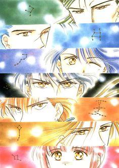 Tags: Fushigi Yuugi, Mitsukake, Chiriko, Tamahome, Nuriko, Hotohori, Chichiri, Tasuki, Suzaku Kounankoku