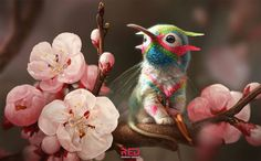 florem grypem latin floral griffin by george redreev Spectrum The Best in Contemporary Fantastic Art Art And Illustration, Illustrations, Cute Fantasy Creatures, Magical Creatures, Creature Concept Art, Creature Design, Art Quotidien, Art Mignon, Fantasy Kunst