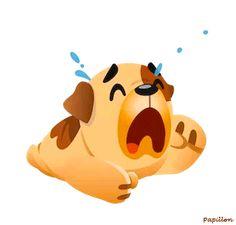 Dog Chummy chum chums gif