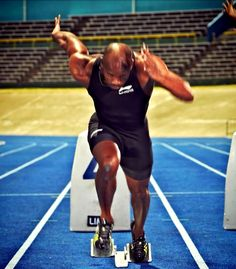 Asafa Powell Best start