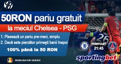 Pariu gratuit in Liga Campionilor pentru Chelsea cu PSG - Ponturi Bune