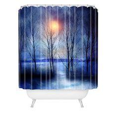 Viviana Gonzalez Winter Sonata Shower Curtain   DENY Designs Home Accessories  #DENYWISHLIST