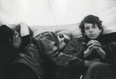 Lou Reed with Andy Warhol