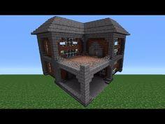 Minecraft Tutorial Mittelalter Haus Deutsch Minecraft - Minecraft hauser aus stein