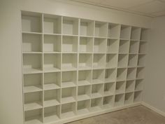Simple Dwellings: Styling Kid's Bookshelves {Our Basement}