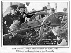"""Los brotes rebeldes de felixistas y reyistas aparentemente extintos a principios de 1913 hicieron su último acto de aparición en la mañana del día 9 de Feb.  The Ten Tragic Days (""""La Decena Trágica"""") was a series of events that took place in Mexico City between February 9 and February 19, 1913, during the Mexican Revolution. This lead up to a coup d'état and the assassination of President Francisco I. Madero and his Vice President, José María Pino Suárez."""