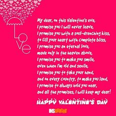 cute valentines day poems for girlfriend