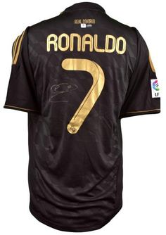 Cristiano Ronaldo Autographed Real Madrid Jersey - SportsMemorabilia.com