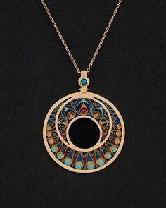 #Gold #Enamel #Turquoise #GeorgianTurquoise #GeorgianEnamel #CloisonneEnamel #Minanqari