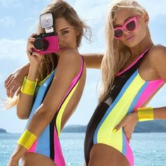 Molly and Polly Swimwear 2014... this reminds me of a swimsuit my barbie had forever ago.