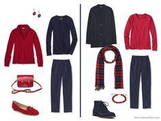 Capsule Wardrobe Color Palette - A Soupçon of Scarlet, with Six Neutrals - The Vivienne Files Fall Capsule Wardrobe, Capsule Outfits, Fashion Capsule, Best Winter Coats, The Vivienne, Minimalist Wardrobe, Minimalist Fashion, Warm Outfits, Black Outfits