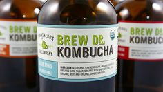100% raw, craft brewed Brew Dr. Kombucha. Made in Portland, Oregon and available in seven flavors.   - USA