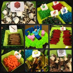 Minecraft party - That's awesome!