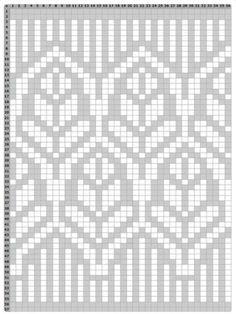 zakardowe wzory darmowe, free noway knit patterns, darmowe wzory norweskie Fair Isle Knitting Patterns, Fair Isle Pattern, Knitting Charts, Knitting Stitches, Knit Patterns, Cross Stitch Patterns, Fair Isle Chart, Pixel Pattern, Cross Stitch Bird