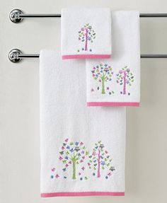 Kassatex Bath Towels, Merry Meadow Collection