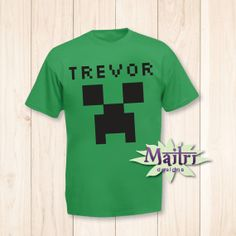 Creeper Tshirt TRANSFER ONLY by MaitriDsigns on Etsy, $4.95 http://www.etsy.com/listing/176435660/creeper-t-shirt-transfer-only?ref=market