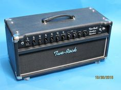 Two Rock (K & M) Overdrive Special Head ca. 2005 Black