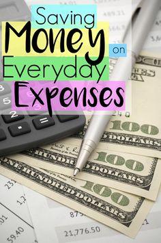 Saving Money on Everyday Expenses