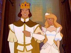 King Derek & Queen Odette