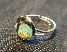 """Ringe - Cabochon-Ring """"Village"""" - ein Designerstück von Soulmate-Works bei DaWanda"""